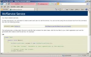 Running WCF Service over SSL 2