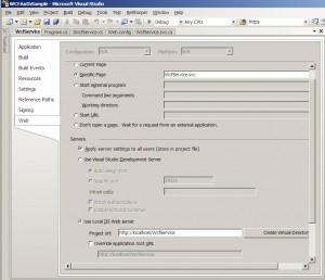Setup Virtual Directory in IIS from Visual Studio