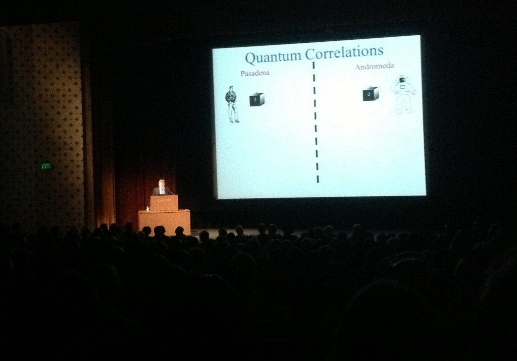 Caltech - John Preskill: Quantum Entanglement and Quantum Computing